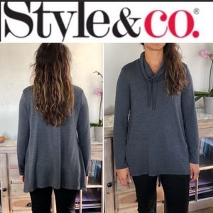 Style & Co Cowl Neck Pullover Sweater